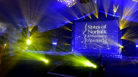 Stars of Norfolk and Waveney awards 2016 at Sprowston manor. PHOTO: Nick Butcher