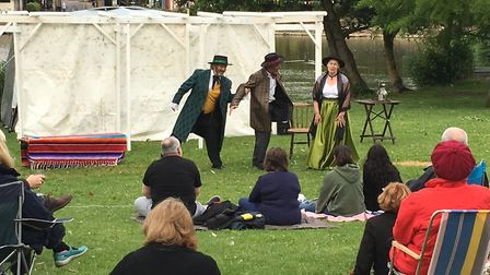 More Shakespeare is planned for Diss' Mere Park. Picture: Lucy Begbie