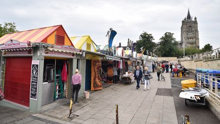 Norwich market has developed a ten year plan to attract more shoppers to the city centre. Picture :