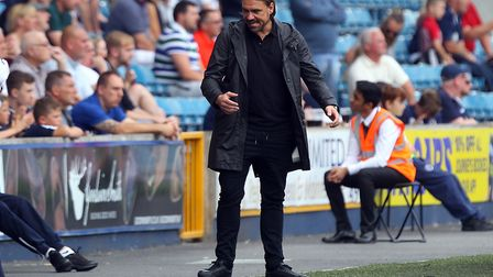 City's hammering at Millwall will not prompt Daniel Farke to call for reinforcements. Picture: Paul