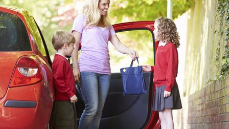 The school run: The biggest daily danger our children face is from the traffic hazards it creates, s