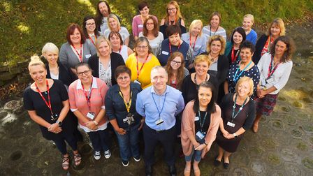 The QEH in King's Lynn has launched the Nursing Apprenticeships. Picture: Ian Burt