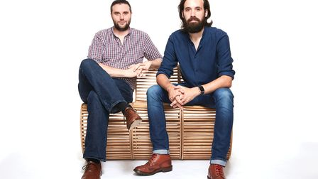 Michael Stiff and Aaron Fickling, co-founders of All is Flux in Norwich, Picture: All is Flux