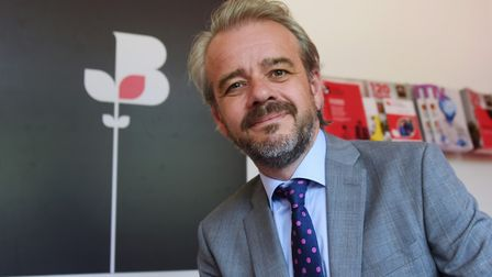 The new chief executive of Norfolk Chamber of Commerce, Chris Sargisson. Picture: DENISE BRADLEY