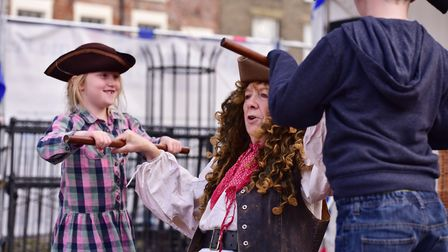 Thousands of people flock to the Yarmouth Maritime festival.Picture: Nick Butcher