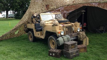 Norfolk Military Vehicle Group display at the Sandringham Game and Country Fair 2017. Picture: Taz A