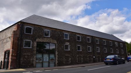 The Warehouse on Minstergate in Thetford is among the properties to be sold off. Picture: Sonya Dunc