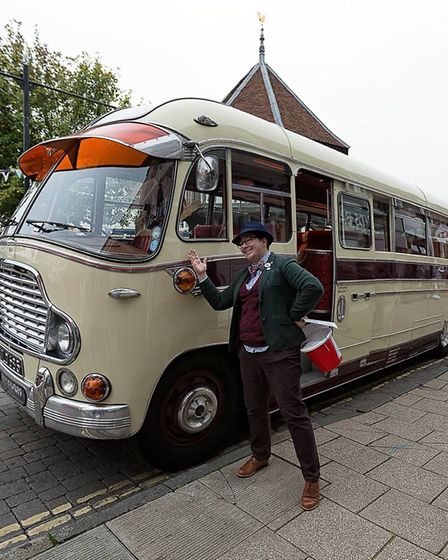 Wymondham's second annual Vintage Day saw scores of visitors step back to the days of classic cars a