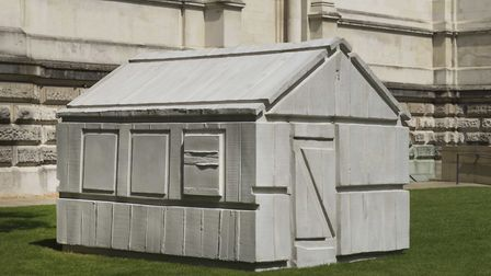 A Rachel Whiteread exhibition is at Tate Britain until January 21. Pictured is the art work Chicken