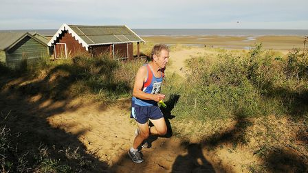 Action from last year's Round Norfolk Relay at Old Hunstanton. Picture: Ian Burt
