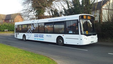 Suffolk's school buses are facing major changes. Picture: JAMES HARGRAVE