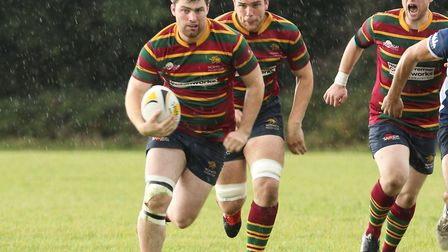Dave Micklethwaite in action for Norwich. Picture: Andy Micklethwaite