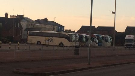 Beach Coach Station Car Park. Picture: Anthony Carroll