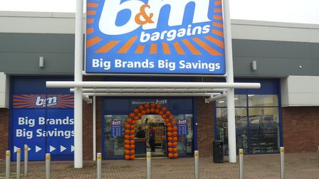 A B&M store elsewhere in the country