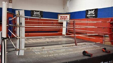 The squared circle at the Kickstop. Picture: Sonya Duncan