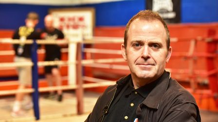 Boxing expert Steve Lillis at the Kickstop Gym - he knows more than most about boxing. Picture: Nick