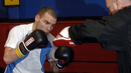 Jackson Williams preparing for his fight with Amir Khan. Picture: Archant