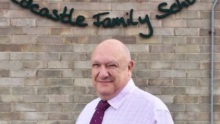 Thetford's Redcastle Family School former headteacher Andy Sheppard. Picture : ANTONY KELLY