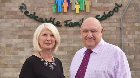 Thetford's Redcastle Family School headteacher Andy Sheppard is leaving, and deputy head Liz Russell