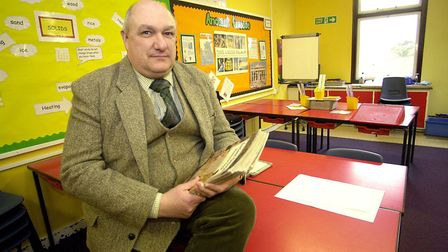 Headteacher Dr Andy Sheppard pictured in 2004. Picture: Denise Bradley