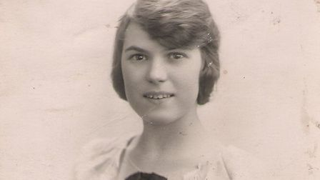 Vi Malin, aged 18, in 1924. Picture: Submitted