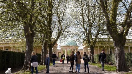 A teenage boy was assaulted in Eaton Park. File photo of Eaton Park : Steve Adams