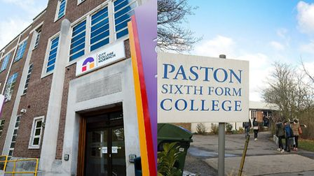 City College Norwich and Paston Sixth Form College. Picture: Keith Whitmore/Antony Kelly