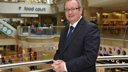 Robert Bradley returns to be the head of the Castle Mall in Norwich. Picture: SONYA DUNCAN