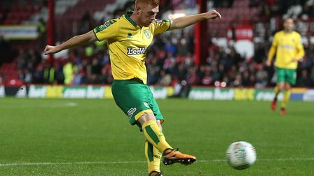 Harrison Reed has retained his place in Norwich City's midfield ahead of Alex Tettey. Picture by Pa