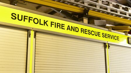 Two vehicles from Lowestoft South fire station and one from Lowestoft North were in attendance to ex