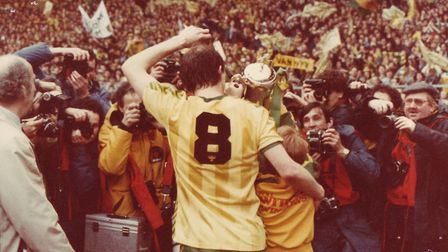 Milk Cup final 1985. Picture: Archant Library