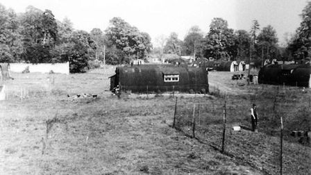 The Weeting Hall Displacement Camp. Picture: V Lukaniuk