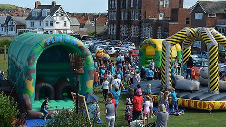 Sheringham BeachLife activities on the Leas. Picture: GARETH GABRIEL