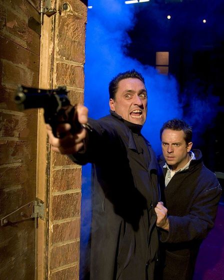 Danny Taylor as Sammy and Sean Jones as Mickey in Blood Brothers. Photo: Submitted