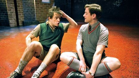 Sean Jones and SimonWillmont in Willy Russell's Blood Brothers. Photo: Submitted