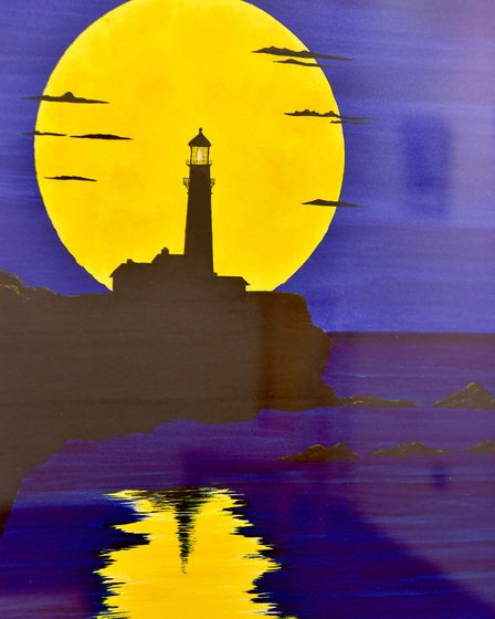 Eastern contemporary artists exhibition at Yarmouth Library.Picture: Nick Butcher