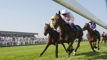 Frankie Dettori rode to victory on So Mi Dar at the Eastern Festival last year. Picture: Nick Butche