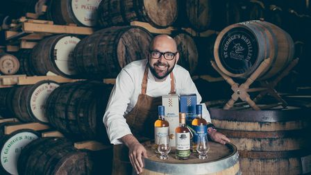Norfolk chef Richard Bainbridge has been named as the first brand ambassador for the English Whisky