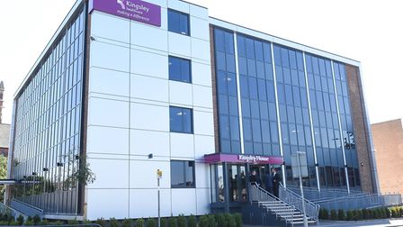Kingsley Healthcare's Lowestoft headquarters, Kingsley House. Picture: Sam Markwell.