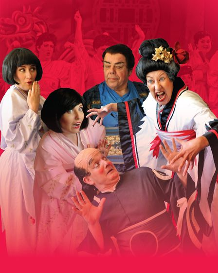 National Gilbert & Sullivan Opera Company production of The Mikado. Photo: Submitted