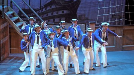 National Gilbert & Sullivan Opera Company production of HMS Pinafore. Photo: Submitted