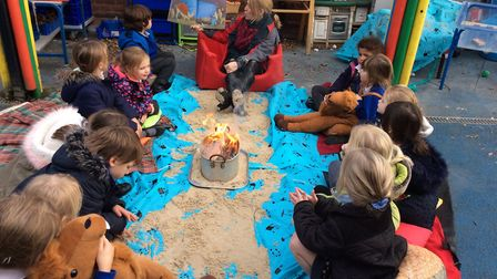 Kelling CE Primary pupils. Pictures: Kelling CE Primary