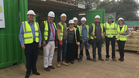 Hethel firm Beattie Passive opens its first flying factory at the Graven Hill development in Oxfords