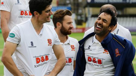 Alastair Cook (left) and Ravi Bopara were key figures for Essex this season. Picture: PA
