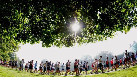 Runners, including Mark Armstrong, will be heading through Woolaton Park in Nottingham this weekend.