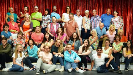 The Cast of 'The Sound of Musicals', which celebrates 50 years of Lowestoft Players. Picture: Courte