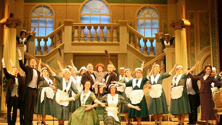 'Annie' was performed by the Players in 2014. Picture: Courtesy of Lowestoft Players