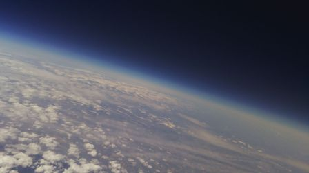 Two students from Sir Isaac Newton Sixth Form have won top prize in the School Space Race after thei