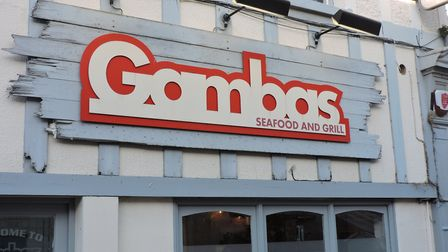 Gambas seafood and grill in Gorleston. Picture: Thomas Chapman