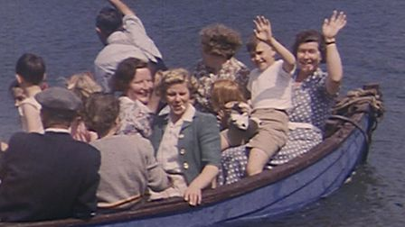 A still from one of the films being featured in the Sounds of Silents: Memories of the Coast event o